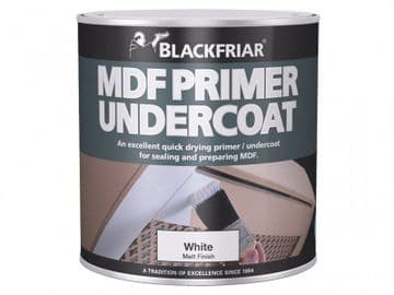 Quick Drying MDF Acrylic Primer Undercoat 1 litre